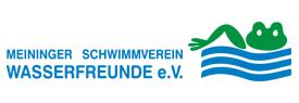 """Logo Meininger Schwimmverein """"Wasserfreunde"""" e.V."""
